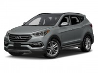 New, 2018 Hyundai Santa Fe Sport 2.0T Ultimate Auto AWD, Gray, 181875-1