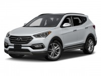 New, 2018 Hyundai Santa Fe Sport 2.0T Ultimate Auto AWD, White, 181872-1
