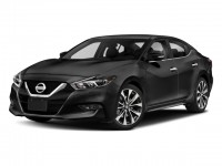 New, 2018 Nissan Maxima SR 3.5L, Black, N180216-1