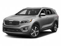 New, 2018 Kia Sorento EX V6, Blue, 18K280-1