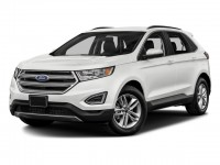 New, 2018 Ford Edge SEL, White, 181084-1