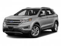 New, 2018 Ford Edge Titanium, White, 181289-1