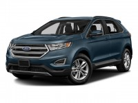 New, 2018 Ford Edge SEL AWD, Blue, F18298-1