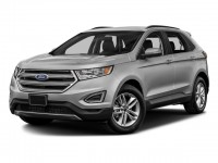 New, 2018 Ford Edge SEL AWD, Silver, F18300-1