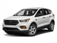 New, 2018 Ford Escape SE, White, HA18575-1