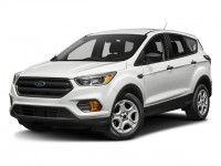 New, 2018 Ford Escape SE 4WD, White, F18386S-1