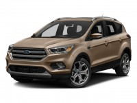 New, 2018 Ford Escape Titanium, White, HA19891-1