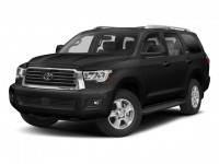 New, 2018 Toyota Sequoia TRD Sport 4WD, Black, 181050-1