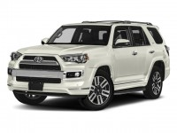 New, 2018 Toyota 4Runner Limited 4WD, White, 181291-1