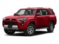 New, 2018 Toyota 4Runner TRD Off Road 4WD, Red, 00293206-1