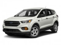 New, 2018 Ford Escape SEL 4WD, White, F18340-1