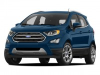 New, 2018 Ford EcoSport SE, Red, B11858-1