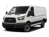 "New, 2018 Ford Transit Van T-150 130"" Low Rf 8600 GVWR Sliding RH Dr, White, F18249-1"