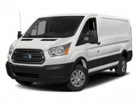 "Used, 2018 Ford Transit Van T-250 130"" Low Rf 9000 GVWR Sliding, White, P17023-1"