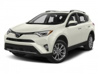 New, 2018 Toyota RAV4 Limited AWD, White, 181270-1