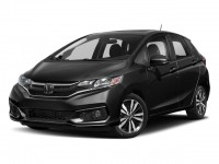 New, 2018 Honda Fit EX-L CVT w/Navi, Black, 186955-1