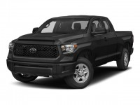 New, 2018 Toyota Tundra 4WD SR Double Cab 8.1' Bed 5.7L, Black, 18632-1