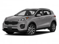New, 2018 Kia Sportage EX, Blue, 18K255-1
