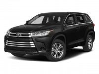 New, 2018 Toyota Highlander LE Plus V6 FWD, Black, 00293398-1