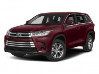 New, 2018 Toyota Highlander LE Plus V6 AWD, Red, 18642-1