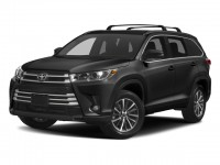 New, 2018 Toyota Highlander XLE V6 AWD, Black, 18643-1
