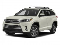 New, 2018 Toyota Highlander XLE V6 AWD, Black, 18911-1