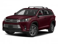 New, 2018 Toyota Highlander XLE V6 AWD, Red, 181305-1
