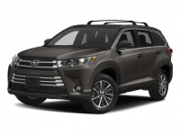 New, 2018 Toyota Highlander XLE V6 AWD, Gray, 181404-1