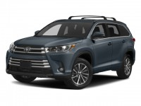 New, 2018 Toyota Highlander XLE V6 AWD, Blue, 181283-1