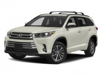 New, 2018 Toyota Highlander XLE V6 AWD, White, 181312-1