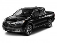 New, 2018 Honda Ridgeline RTL-E AWD, Black, 186629-1