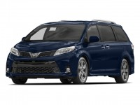 New, 2018 Toyota Sienna LE FWD 8-Passenger, Blue, 181410-1