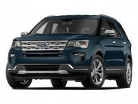 New, 2018 Ford Explorer XLT 4WD, Blue, F18464-1