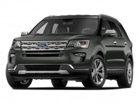 New, 2018 Ford Explorer XLT 4WD, Gray, F18431-1