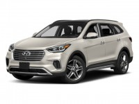 New, 2018 Hyundai Santa Fe Limited Ultimate 3.3L Auto AWD, White, 18583-1