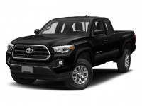 New, 2018 Toyota Tacoma SR5 Access Cab 6' Bed V6 4x4 AT, Black, 181184-1