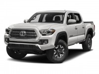 New, 2018 Toyota Tacoma TRD Off Road Double Cab 5' Bed V6 4x4 AT, White, 181180-1