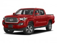 New, 2018 Toyota Tacoma TRD Sport Double Cab 6' Bed V6 4x4 AT, Orange, 181266-1