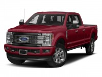 New, 2018 Ford Super Duty F-250 SRW Platinum, Red, HTA18764-1