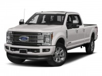 New, 2018 Ford Super Duty F-250 SRW Platinum, White, HTA18992-1