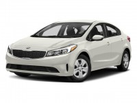 New, 2018 Kia Forte LX, White, 18K389-1