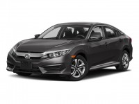 New, 2018 Honda Civic Sedan LX CVT, Gray, 187040-1