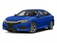 New, 2018 Honda Civic Sedan EX CVT, Blue, 186949-1