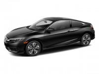 New, 2018 Honda Civic Coupe EX-T CVT, Black, 180937-1