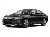 New, 2018 Honda Accord Sedan LX CVT, Black, N180640-1
