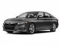New, 2018 Honda Accord Sedan LX CVT, Gray, 181037-1