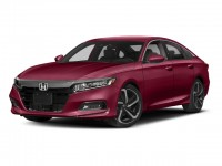 New, 2018 Honda Accord Sedan Sport Manual, Red, 187069-1