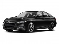 New, 2018 Honda Accord Sedan Sport CVT, Black, 180968-1