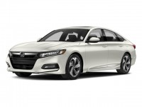 New, 2018 Honda Accord Sedan EX CVT, White, 187036-1