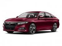 New, 2018 Honda Accord Sedan Sport 2.0T Auto, Red, 187055-1
